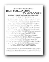 Flyer image : From Buffalo Chips to Microchips